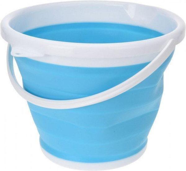 Ведро 10 литров туристическое складное Collapsible Bucket силиконовое