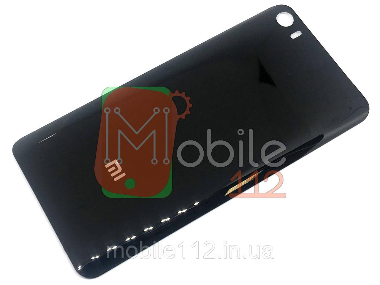 Задня кришка Xiaomi Mi5 (2015105) чорна оригінал Китай скло