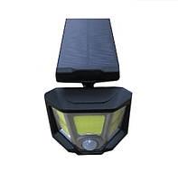 Светильник 10W на солнечной батарее с датчиком движения. Светодиодный светильник настенный Led