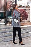 Костюм брючный женский батал, брюки+кардиган р.48-50,52-54,56-58 код 055Л, фото 3