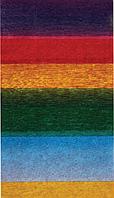 Бумага креповая, рулонная, 200х50 см, радуга