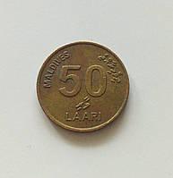 50 лари Мальдивы 1995 г., фото 1