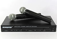 Радиосистема ShureDM LX-88 IIбаза и 2 радиомикрофона, фото 1