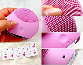 Масажер для обличчя, силіконова щіточка для чистки особи Foreo Luna, фото 2