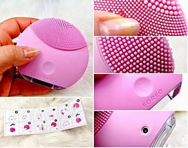Массажер для лица, силиконовая щетка для чистки лица Foreo Luna, фото 2