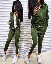 Жіночий спортивний костюм двійка штани і кофта, фото 2