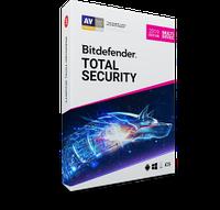 Ліцензійний антивірус Bitdefender Total Security 2020 - тотальнийзахист вашихпристроїв. Єдина панель.