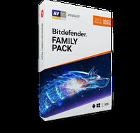 Ліцензійний антивірус Bitdefender Family Pack 2020 - комплексний захист 15 пристроїв сімейного кола!