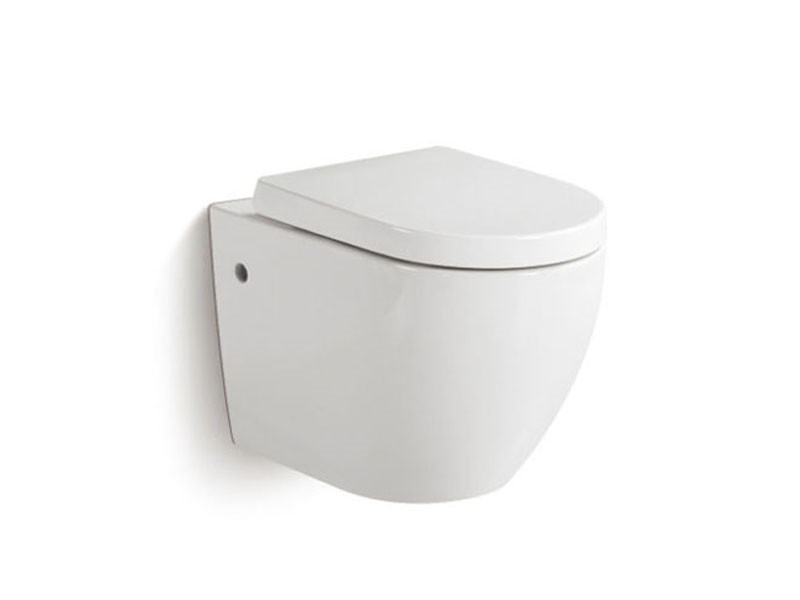 Modern Чаша подвесного унитаза Rimless с сиденьем 3823W NEW белый NEWARC