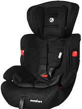 Автокрісло Babycare Comfort від 1 до 12 років (чорний колір)