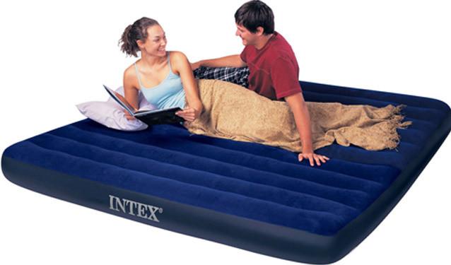 Надувной матрас Intex 68755 двухместный 183 см х 203 см х 22 см
