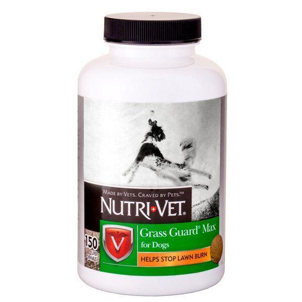 Добавка Nutri-Vet Grass Guard от «выжигания» газонной травы для собак, 150 шт.