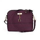 Модная женская сумка Бэмби Фиолетовая, фото 2
