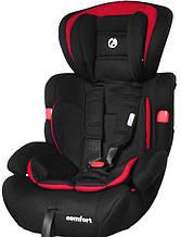 Автокресло Babycare Comfort от 1 до 12 лет (черный/красный цвет)