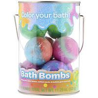 Crayola, Bath Bombs, Grape Jam, Laser Lemon, Cotton Candy & Bubble Gum Scented , 8 Bath Bombs, 11.29 oz (320 g