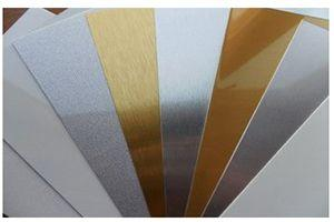 Алюминий 60x30 ПЕРЛАМУТРОВЫЙ (0,45 мм) для сублимации