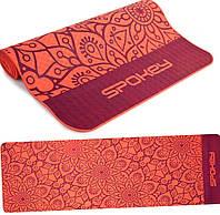 Коврик для йоги и фитнеса Spokey Mandala 926051, красный, фото 1