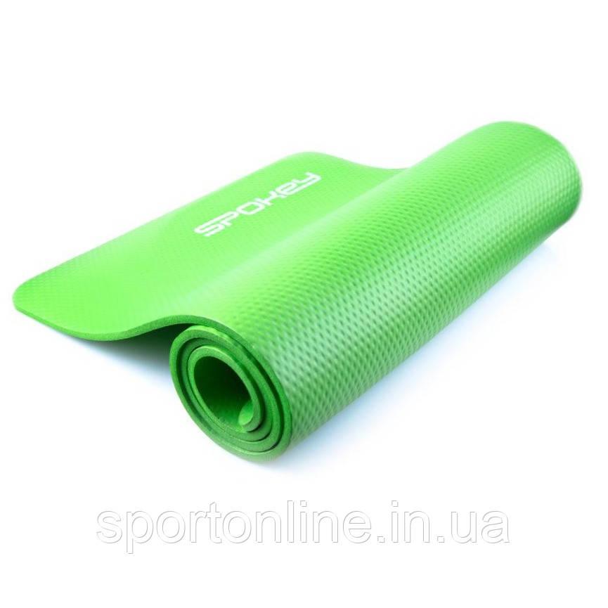 Коврик для йоги и фитнеса Spokey SOFTMAT 838320, салатовый