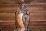 Скульптрура з дерева Будда горіх, фото 3