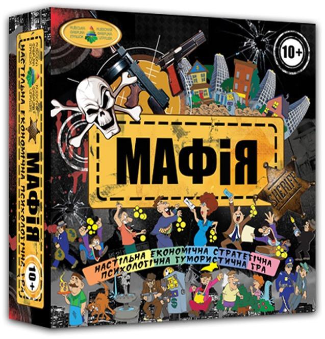 """Настольная игра """"Мафия"""" 82234"""