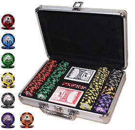 """Покерный набор """"All in"""" 200 фишек"""