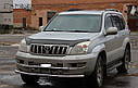 Захист переднього бампера (ус подвійний) Toyota Land Cruiser Prado 120 2002-2009, фото 2