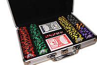 "Покерный набор ""All in"" 200 фишек, фото 4"