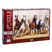 Danko Toys Пазлы «Лошади» 380 элементов