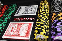 "Покерный набор ""All in"" 200 фишек, фото 8"