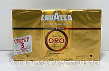 Кофе молотый Lavazza Qualita Oro, 100% Арабика, Италия, 250 г