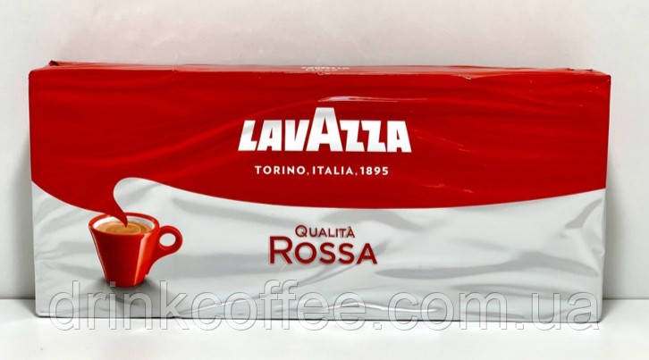 Кофе молотый Lavazza Qualita' Rossa, 70% Арабика/30% Робуста, Италия, 250 г