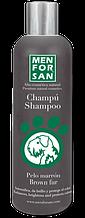 Оттеночный шампунь MenForSan для собак коричневого цвета, 300 мл