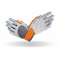 Workout Gloves MFG-850, grey/chili, L size