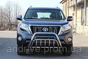 Кенгурятник двойной (защита переднего бампера) Toyota Land Cruiser Prado 150 2009+