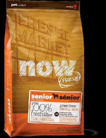 Контроль веса - беззерновой корм для Собак (NOW Fresh Senior Recipe Grain Free), фото 2