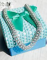 """Цепь из серебра Meridian 925 пробы плетение """"Венеция""""  55 размер БелВенециялегкая550"""