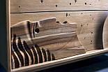 Дизайнерский арт комод из дуба Северное сияние из натурального дуба, фото 4