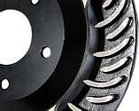 Гальмівний диск з насічками і перфорацією, фото 4