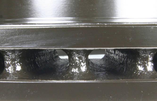 Гальмівний диск з насічками і перфорацією, фото 2