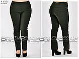 Летние женские брюки  бенгалин стрейч  Размеры 48.50.52.54.56.58, фото 3