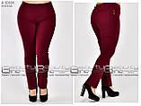 Летние женские брюки  бенгалин стрейч  Размеры 48.50.52.54.56.58, фото 5