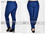 Летние женские брюки  бенгалин стрейч  Размеры 48.50.52.54.56.58, фото 6