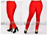 Летние женские брюки  бенгалин стрейч  Размеры 48.50.52.54.56.58, фото 7
