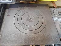 Плита под 22л казан. Чугунная плита для барбекю 75х75см. Печная однокомфорочная плита Херсон