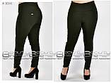 Летние женские брюки  бенгалин стрейч  Размеры 52.54.56.58. 60.62.64.66.68.70.72 .74, фото 3