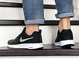 Темно зеленые кроссовки Nike Zoom (мужские, сетка) Размер 42, 44., фото 3