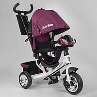 Велосипед детский трехколесный Best Trike 6588 ПЕНА+ФАРА