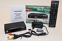 World Vision Foros Ultra (цифровой эфирный DVB-T2 тюнер, спутниковый тюнер, кабельный тюнер)