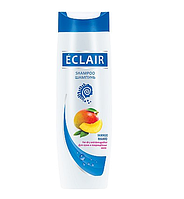 """Шампунь для волос """"ECLAIR"""" 400 мл Манго (для сухих волос и поврежденных волос)"""