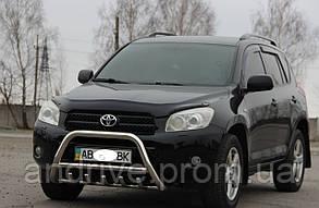 Кенгурятник с грилем (защита переднего бампера) Toyota RAV4 2005-2012